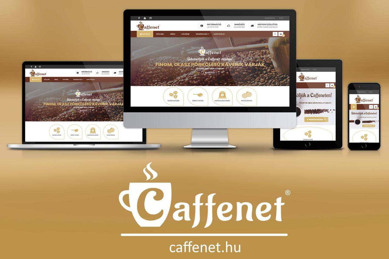 Caffenet reszponzív webáruház