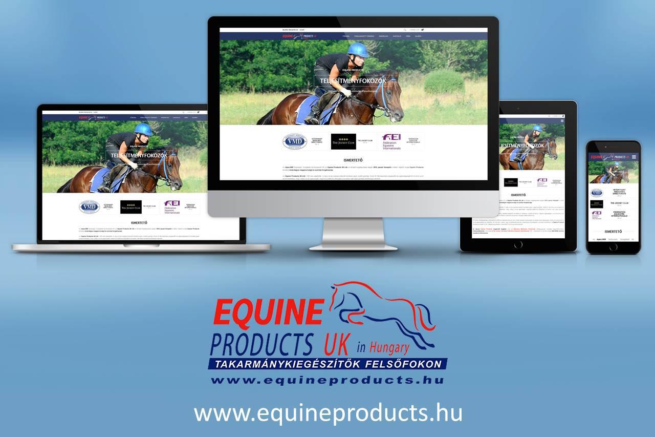 Equineproducts reszponzív webáruház