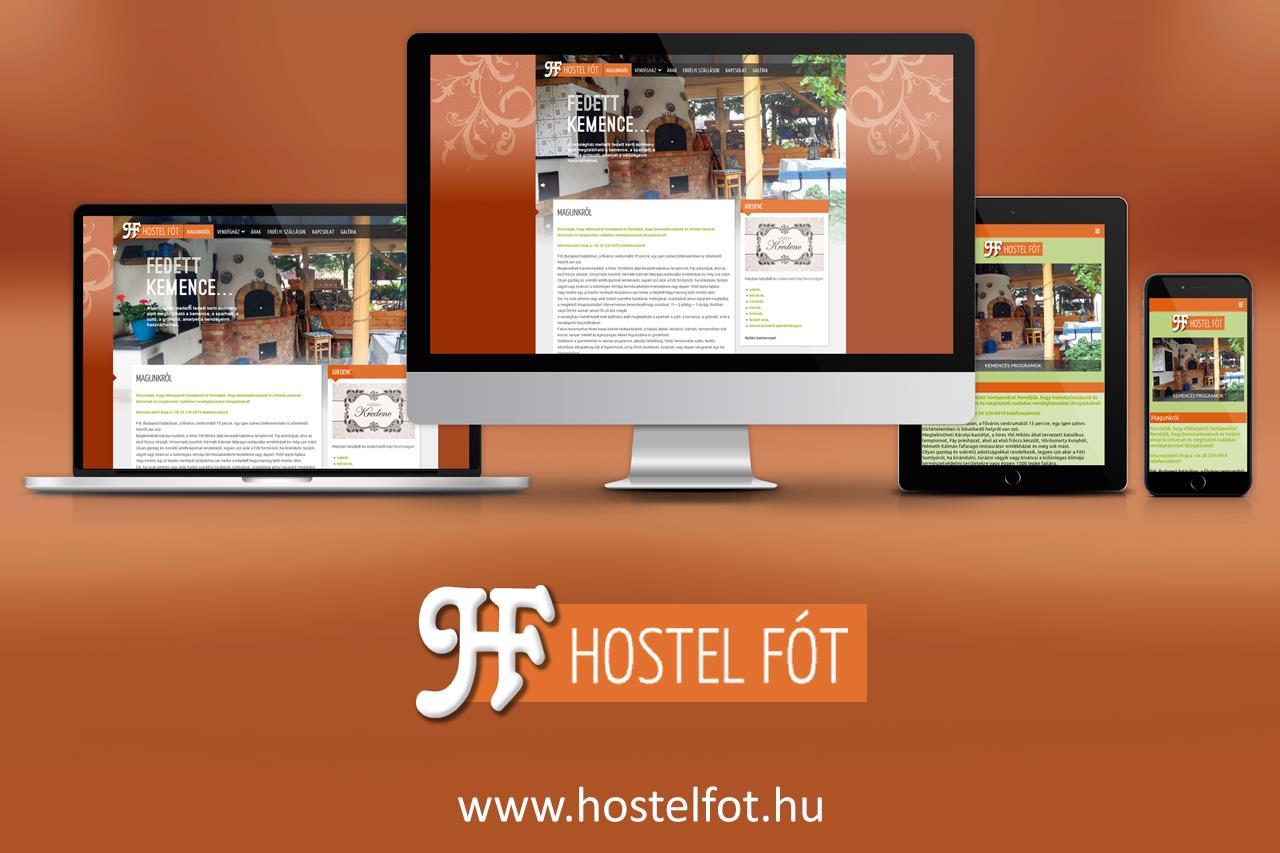 Hostel Fót weboldal